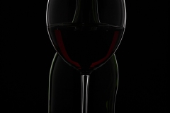 Dark light wine